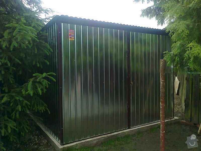 Plechová garáž + sklad dřeva: Zdjecie0450