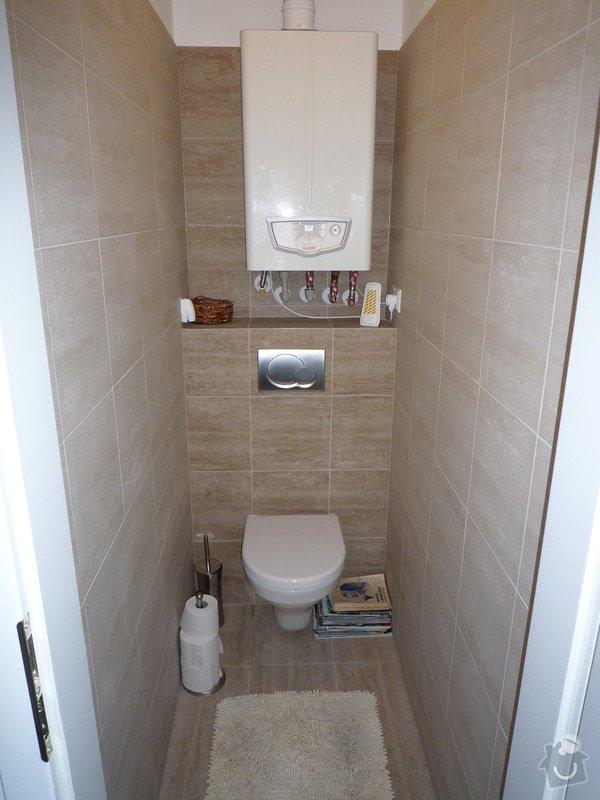 Nová koupelna, WC a předsíň: P1100436