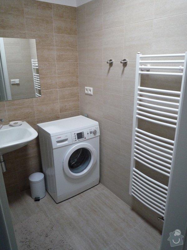 Nová koupelna, WC a předsíň: P1100444