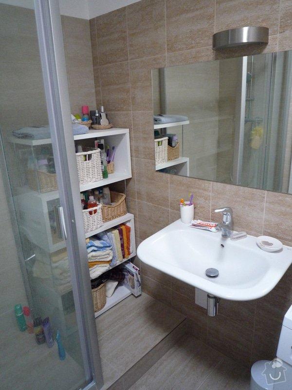 Nová koupelna, WC a předsíň: P1100446