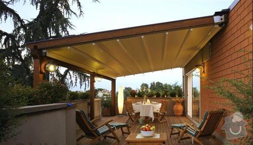 Stavba pergoly s pohyblivou strechou: pergola