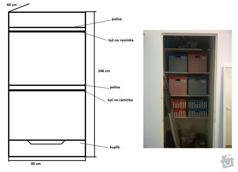 Výroba vestavných skříní na míru a další práce: satna_1