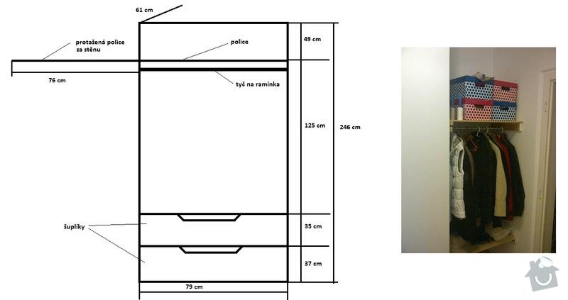 Výroba vestavných skříní na míru a další práce: satna_3