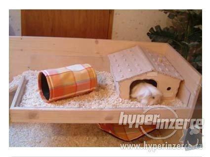Příbytek (klec, domeček) pro morčata: 1640045-pribytek-pro-potkany-kralicky-morcatka-krecky-klec-2
