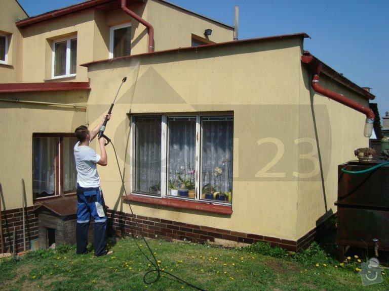 Čištění fasády od atmosferického znečištění ve Zbuzanech: q000009_001