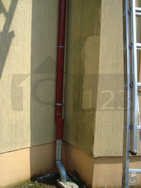 Čištění fasády od atmosferického znečištění ve Zbuzanech: q000009_020