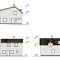 Hruba stavba rodinneho domu a demolice puvodni stavby pohledy