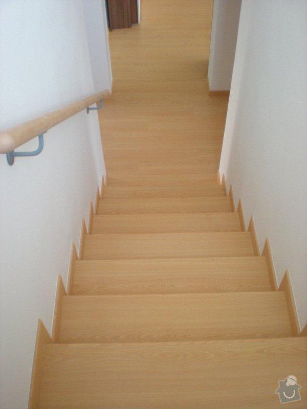 Pokládka plovoucí podlahy včetně obložení schodiště: 13