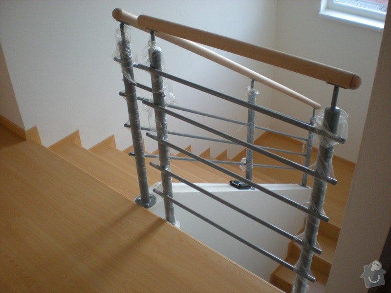 Pokládka plovoucí podlahy včetně obložení schodiště: 11
