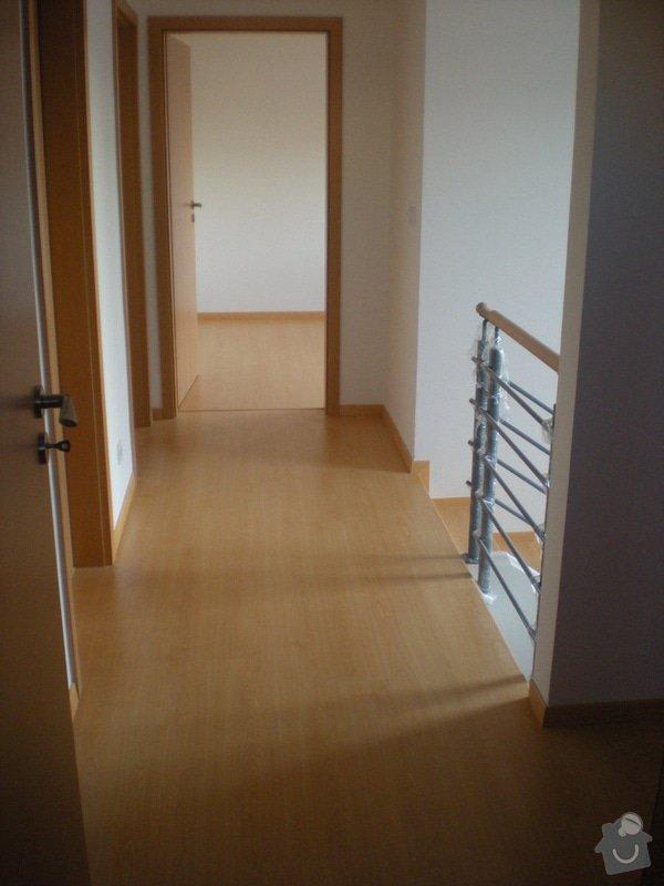 Pokládka plovoucí podlahy včetně obložení schodiště: 10