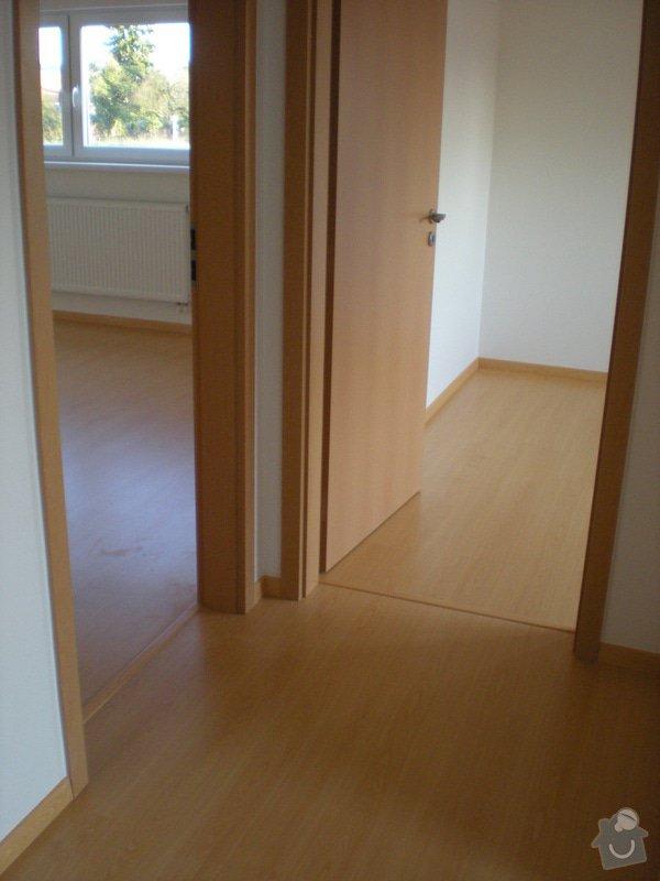 Pokládka plovoucí podlahy včetně obložení schodiště: 9