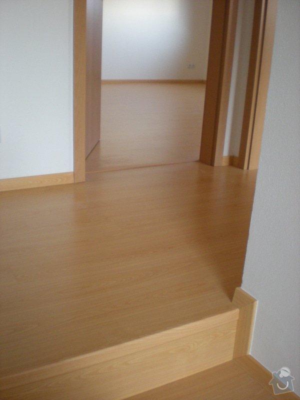 Pokládka plovoucí podlahy včetně obložení schodiště: 8