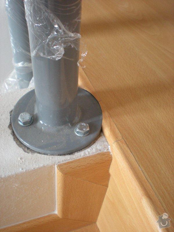 Pokládka plovoucí podlahy včetně obložení schodiště: 7