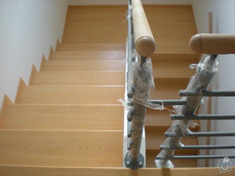 Pokládka plovoucí podlahy včetně obložení schodiště: 5