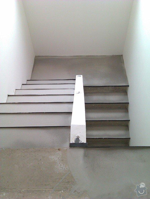 Pokládka plovoucí podlahy včetně obložení schodiště: 4