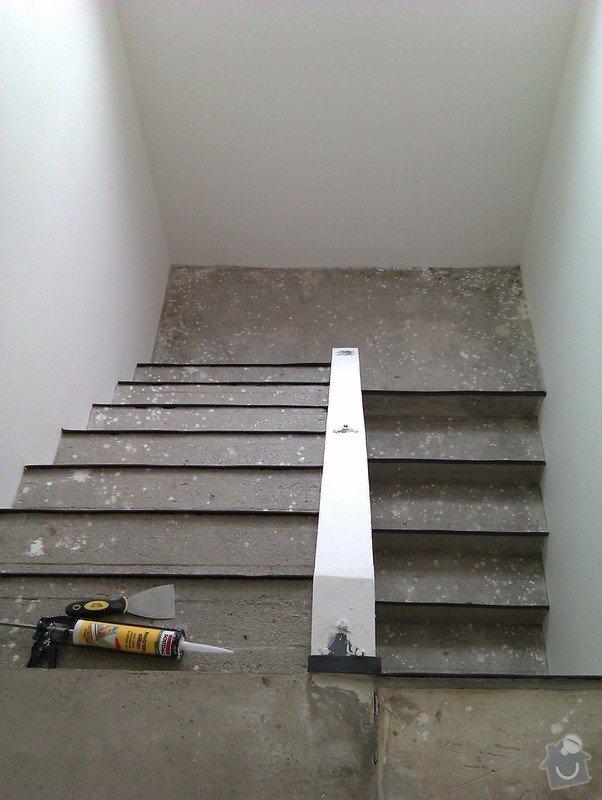 Pokládka plovoucí podlahy včetně obložení schodiště: 3