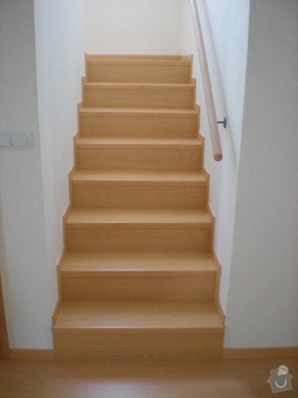 Pokládka plovoucí podlahy včetně obložení schodiště: 2