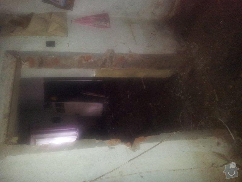 Zhotovení podlah a oken po povodních v Rudníku: 20130608_131300
