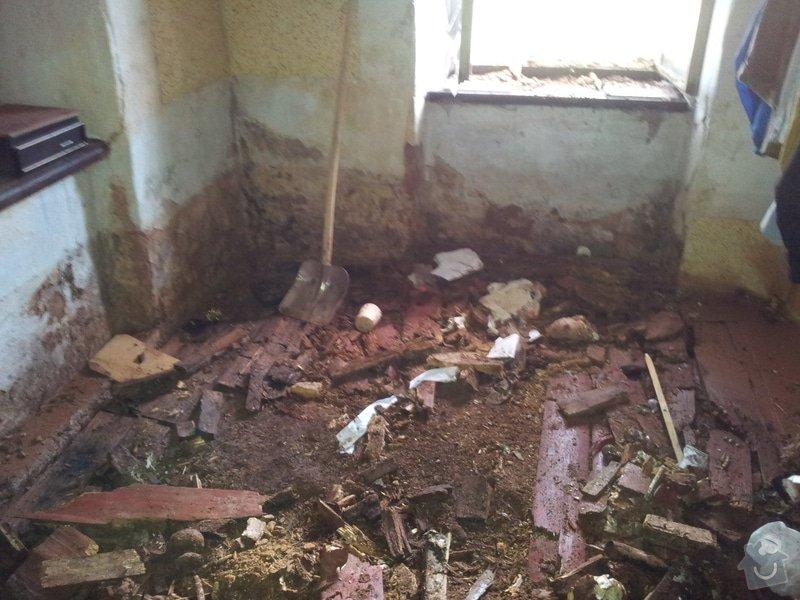 Zhotovení podlah a oken po povodních v Rudníku: 20130608_113117