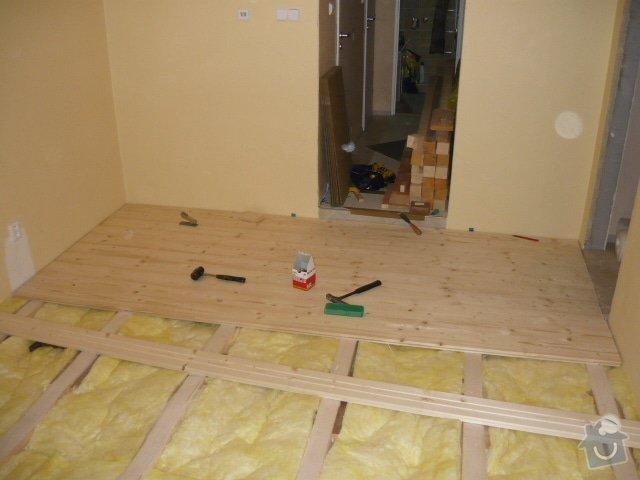 Pokládka palubové podlahy: P1000906