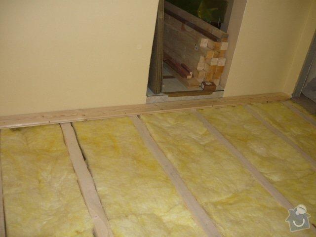 Pokládka palubové podlahy: P1000905