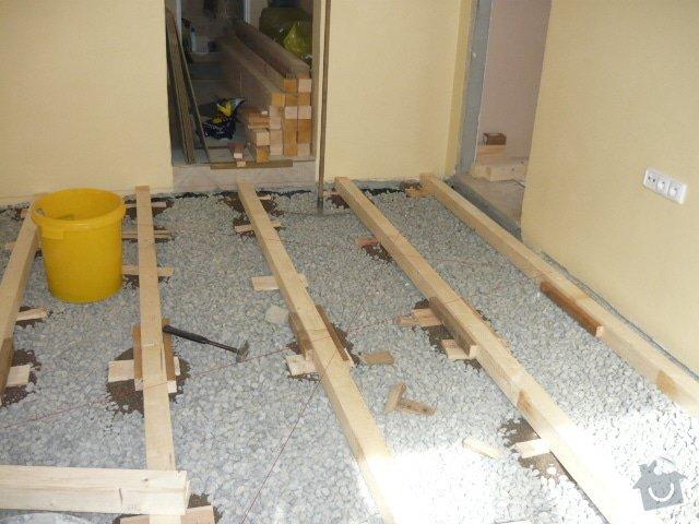 Pokládka palubové podlahy: P1000901
