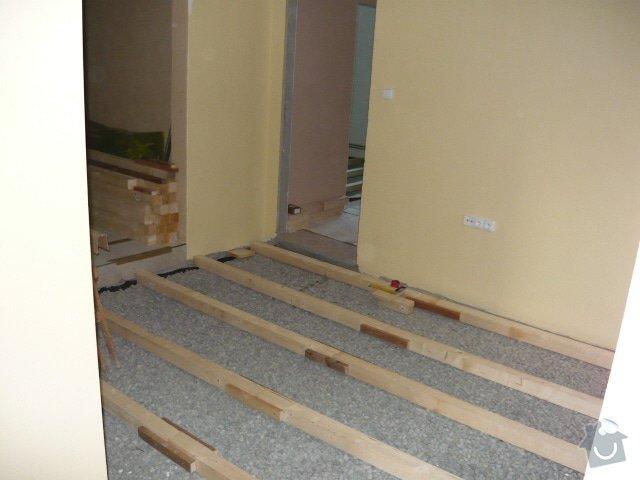 Pokládka palubové podlahy: P1000892