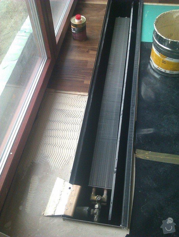 Položení plovoucí třívrstvé parkety: IMAG0322
