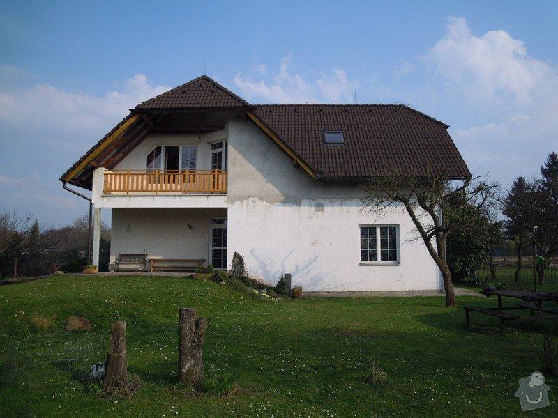 Zateplení fasády rodiného domu: DSCN4131
