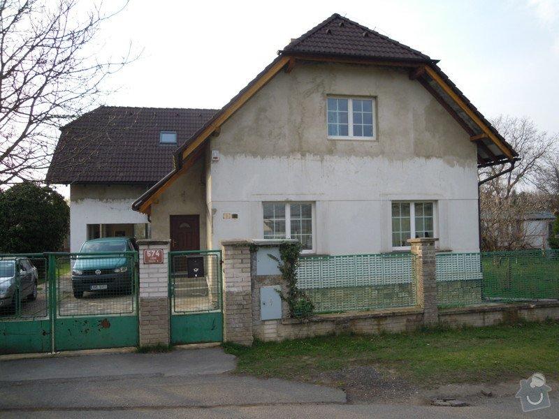 Zateplení fasády rodiného domu: DSCN4140