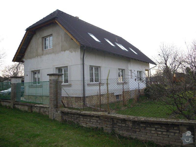Zateplení fasády rodiného domu: DSCN4141