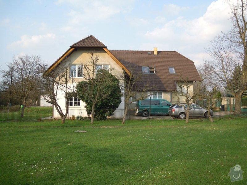 Zateplení fasády rodiného domu: DSCN4139