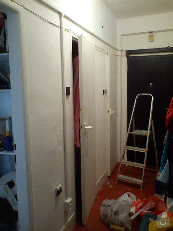 Elektroinstalace nového zásuvkového obvodu v bytě 2+1.: DSC01138
