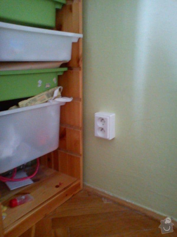 Elektroinstalace nového zásuvkového obvodu v bytě 2+1.: DSC01140