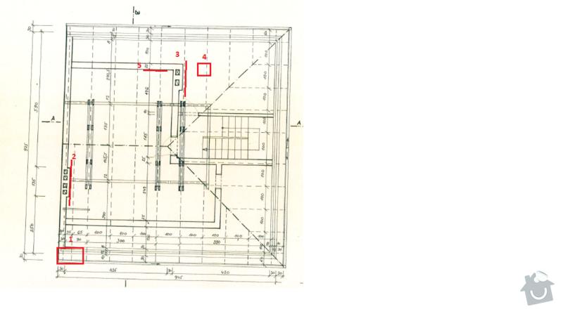 Oprava střechy RD - zatékání: Schema_strecha