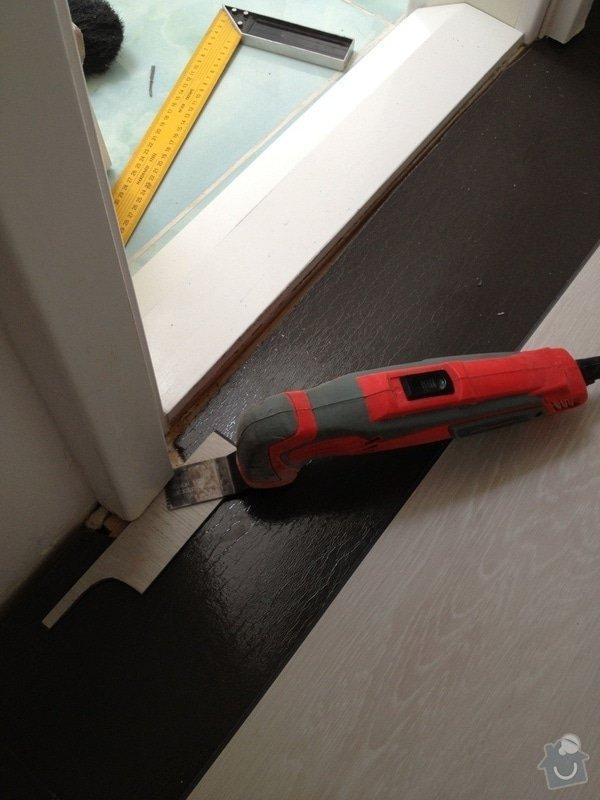 Pokládka plovoucí vinylové podlahy: IMG_0517