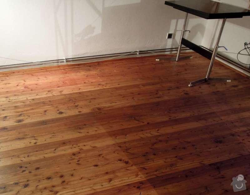 Čištění a impregnace dřevěné podlahy: podlaha