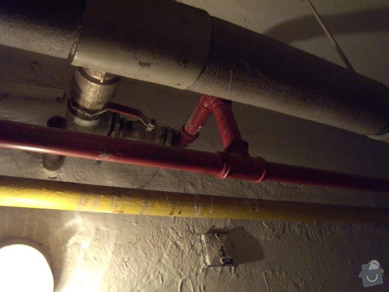 Povinná kontrola požárního vodovodu: DSCN4517