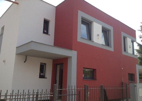 Zateplení fasády včetně tesařských prací