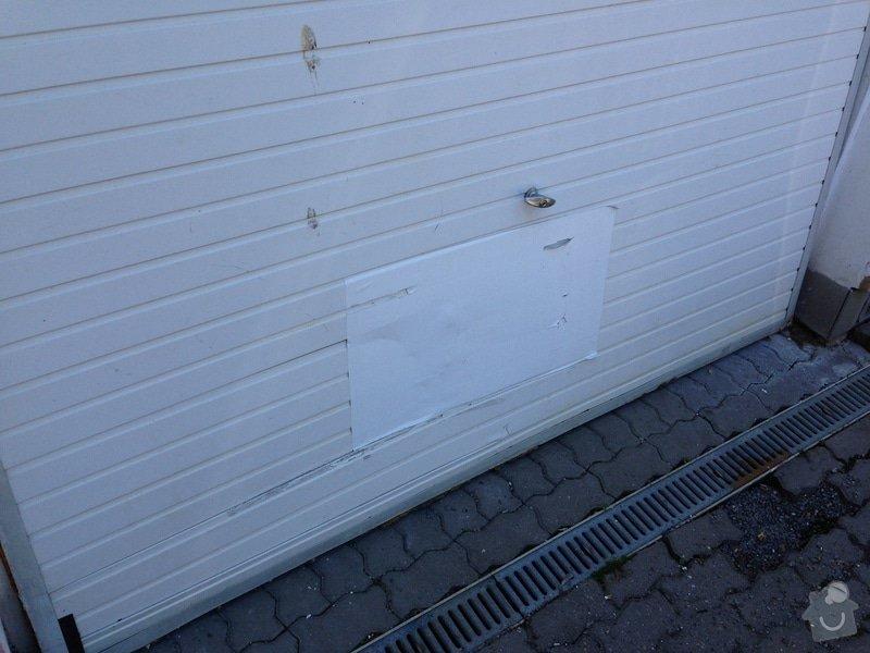Oprava_Repas garážových vrat: IMG_0980