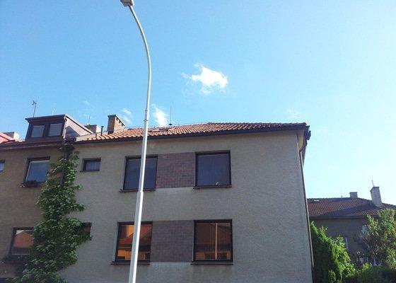 Oprava střechy RD - zatékání