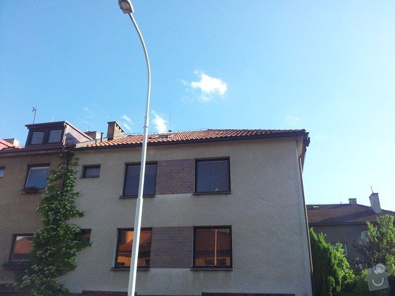 Oprava střechy RD - zatékání: 20130611_180937