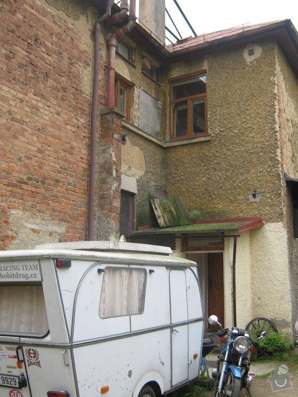 Zbourání komínu na rodinném domě: komin_008