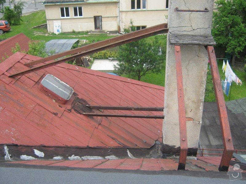 Zbourání komínu na rodinném domě: komin_002