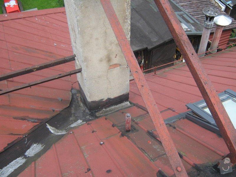 Zbourání komínu na rodinném domě: komin_003