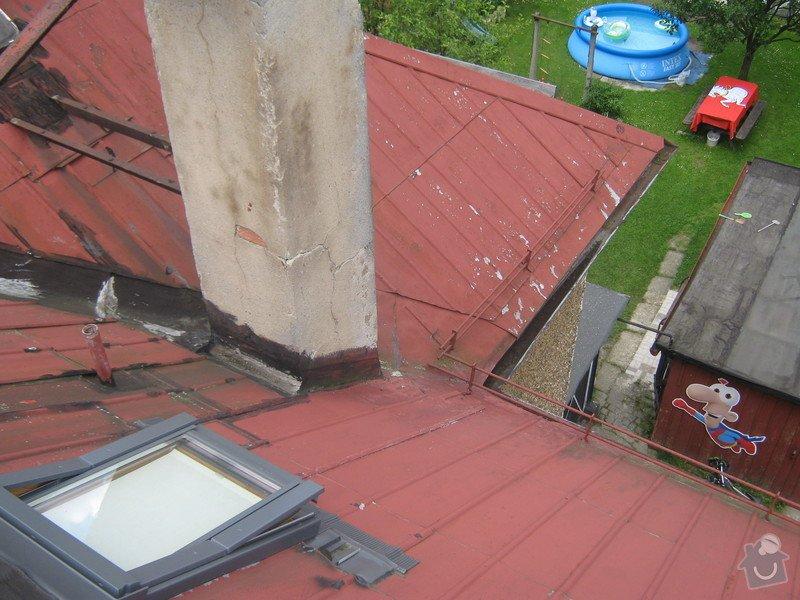 Zbourání komínu na rodinném domě: komin_004