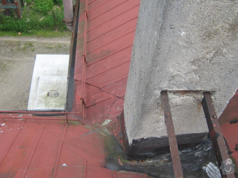 Zbourání komínu na rodinném domě: komin_005