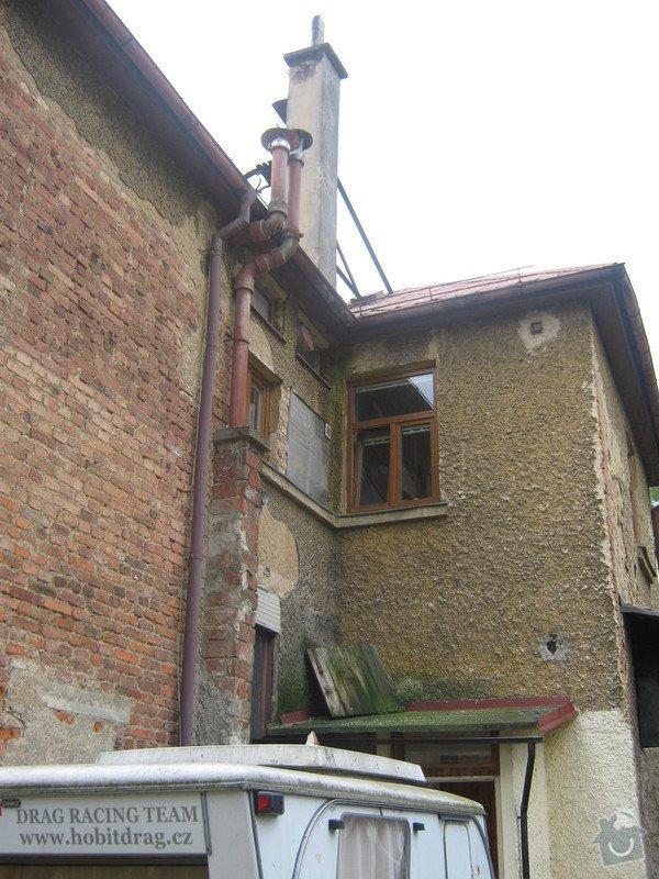 Zbourání komínu na rodinném domě: komin_006