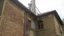 Zbourání komínu na rodinném domě