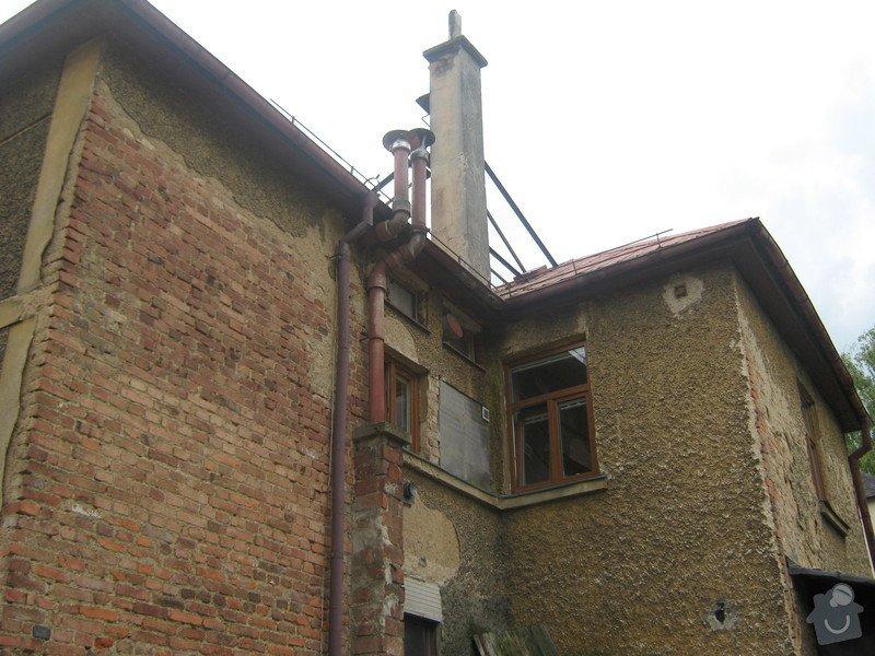 Zbourání komínu na rodinném domě: komin_007